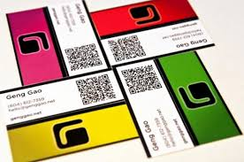 Business Card With Qr Code 22 Great Examples Of Qr Code Business Cards And Business Card Designs