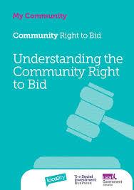 to bid understanding the community right to bid my community