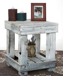 White Distressed Wood Coffee Table Best 25 Distressed End Tables Ideas On Pinterest Refurbished