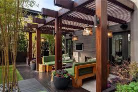 home design modern covered deck ideas landscape designers hvac