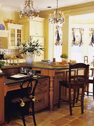kitchen breakfast bar island elegant kitchen with small chandeliers hanging over the breakfast