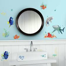 roommates bubbles peel and stick wall decal rmk1846scs the home 5 in w x 11 5 in h finding dory 19 piece peel