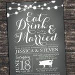 eat drink and be married invitations eat drink and be married invitations rehearsal dinner invitations