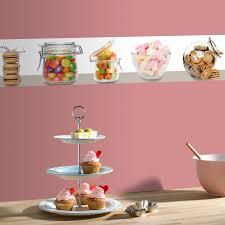 frise murale cuisine frise vinyle cuisine idées décoration intérieure farik us