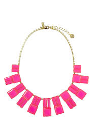 resin statement necklace images Pink hot chip statement necklace by kate spade new york jpg