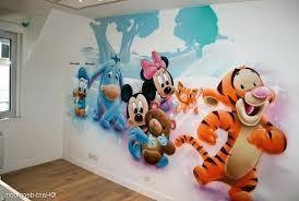 fresque murale chambre bébé fresque chambre fille fresque murale oiseaux peinture murale