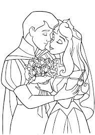 sleeping beauty prince princess coloring pages coloring pages