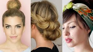 cute summer hairstyles in less than five minutes