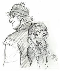 frozen images anna and kristoff sketches wallpaper and background