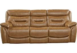 Leather Brown Sofas Bennato Brown Leather Reclining Sofa Reclining Sofas Brown