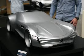 real futuristic cars a stunning mercedes benz gullwing study for the 21st century