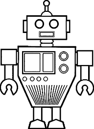 printable robot coloring pages kids coloringstar