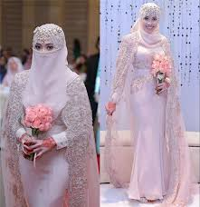 islamic wedding dresses gorgeous arabic muslim wedding dresses 2016 high neck lace