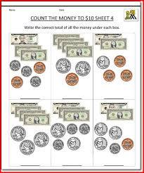 free printable money worksheets for 1st grade kristal project