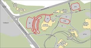 wvu evansdale map wvu creative arts center arts entertainment virginia