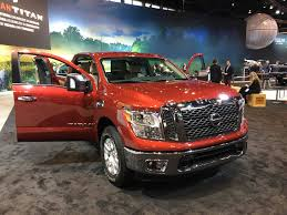 2017 nissan titan you like things big then get your hands on the nissan titan u0027s new