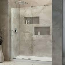 Mirage Shower Doors Mirage X 56 60 In Width Frameless Sliding Shower Door 3 8