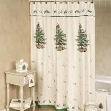 spode tree shower curtain rainforest islands ferry