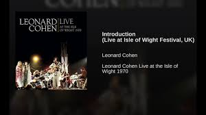 introduction live at isle of wight festival uk