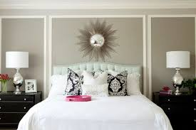headboard wall art exquisite wall art and soft grey wall color for contemporary bedroom