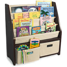 White Bookcase With Toy Box by Wonkawoo Little Bookworm Sling Bookshelf Walmart Com