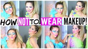 what is the best halloween makeup to use how not to wear makeup prom youtube