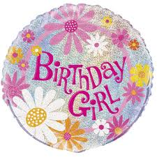 birthday girl large birthday girl foil balloon hobbycraft