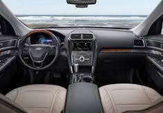 Ford Explorer 2016 Interior 2016 Ford Explorer Platinum Interior Ford Explorer Ford And