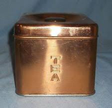 copper kitchen canister metal ebay