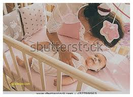 baby crib next to bed awesome crib stock royalty free u0026 vectors