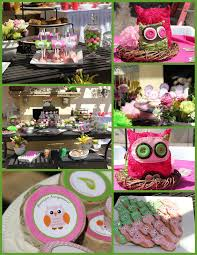 mkr creations owl theme birthday party