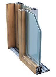 profili per porte porte scorrevoli legno alluminio profili per finestre a scomparsa