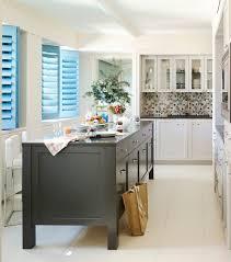 island buffet kitchen transitional with decorative glass