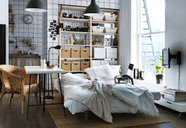 Small Bedroom Ideas With Queen Bed Enchanting Apartment Small Bedroom For Female Decoration Contains