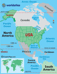 us map w alaska united states of america usa land statistics and landforms