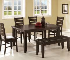 dining room dining room set with bench cool dining room set
