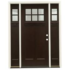 Home Depot Doors Interior Pre Hung by Feather River Doors 63 5 In X81 625 In 6 Lt Clear Craftsman