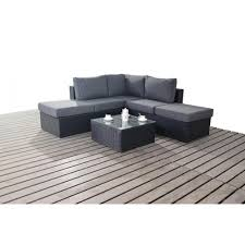 Outdoor Rattan Corner Sofa Port Royal Prestige Small Corner Sofa Set Rattan Furniture
