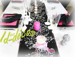 mariage baroque décoration de mariage baroque decorations mariage baroque noir