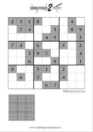 sudoku puzzle to print 5