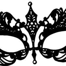 black and white mardi gras masks shop filigree mask on wanelo