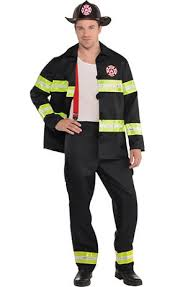 Womens Firefighter Halloween Costume Fireman Costume Party