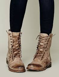 womens combat boots womens combat boots lace up buckle fashion boot