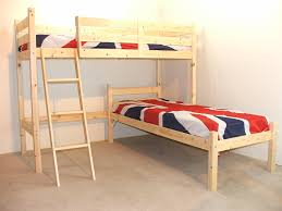 Bunk Beds L Shaped L Shaped 3ft Bunkbed Wooden Lshaped Bunk Bed For Fast