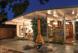 Eichler Home See These Mid Century Modern Eichler Homes Come To Life After Dark