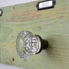 glass door knob coat rack build a storage shelf in the wall u0026 save counter space refresh