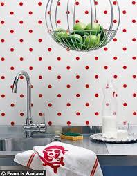 papier peint cuisine lavable matières décoration et cuisine cocon de décoration