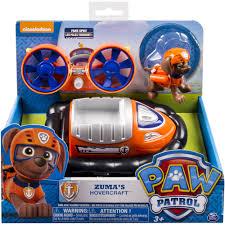 paw patrol mission paw zuma u0027s mission hovercraft walmart