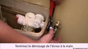 Flotteur Wc Suspendu by Remplacer Le Robinet Flotteur D U0027une Chasse D U0027eau Youtube