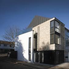 Contemporary Modern House Contemporary Modern House Wimbledon London Brick White Render Zinc